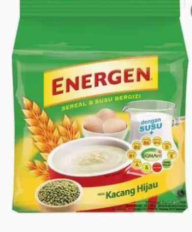 ( Paket Hemat 2 Pack) Energen Kacang Hijau Sachet