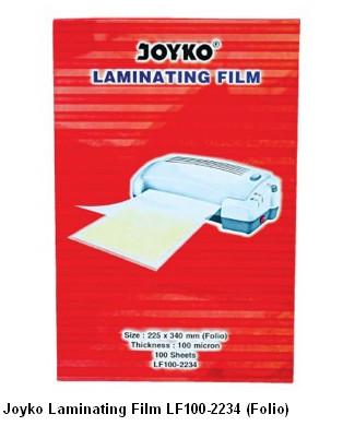 Joyko Laminating Film LF100-2234 (Folio)