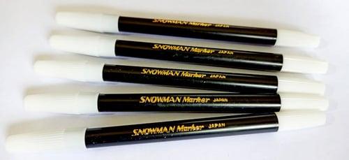 Snowman PW-1A Pencil Marker Black