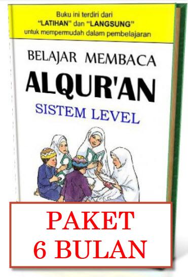 KURSUS ONLINE PAKAI ROBOT Belajar Membaca Al Quran Termurah - PAKET 6 BULAN