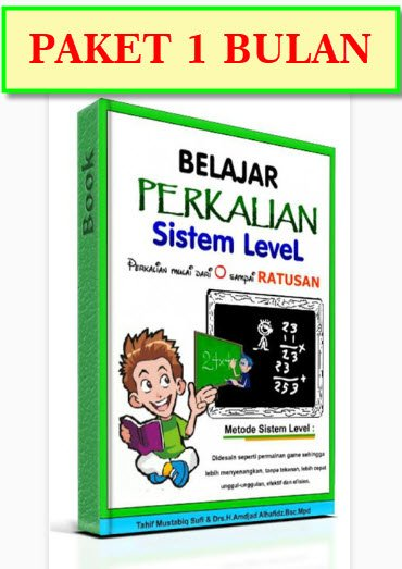 KURSUS PAKAI ROBOT BELAJAR PERKALIAN SISTEM LEVEL ONLINE Termurah - PAKET 1 BULAN