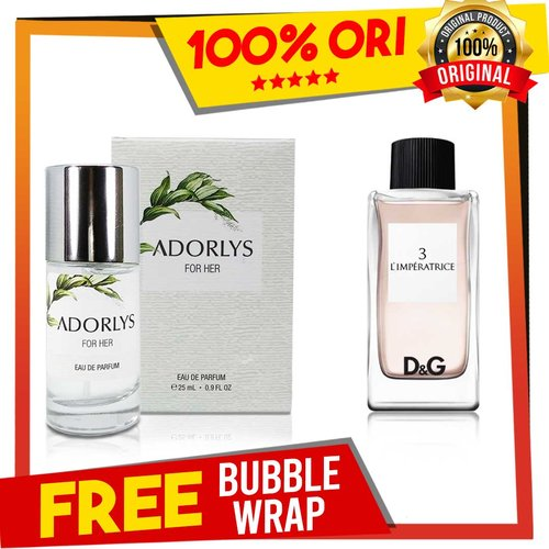 ADORLYS Parfum Secret Potion Inspired By Dolce & Gabbana Limperatrice 25ml