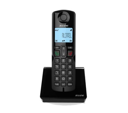 Alcatel S250 Cordless Phone Black