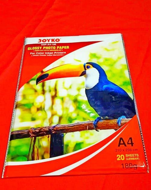 Joyko Glossy Photo Paper GSP-A4-180