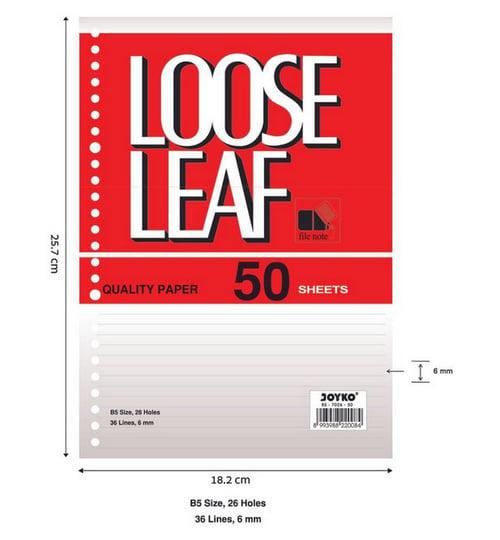 Joyko Loose Leaf B5-7026 ( 50 S)