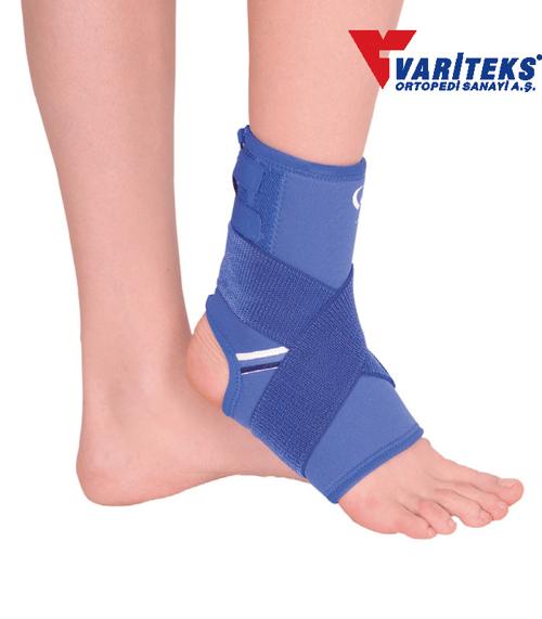 VARITEKS Ankle Brace With Bandage ( L )