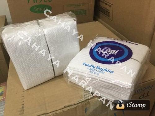 Tissue Belah - Tissue TOPI Potong - Tissue Lipat Belah 50Lembar 1 ply