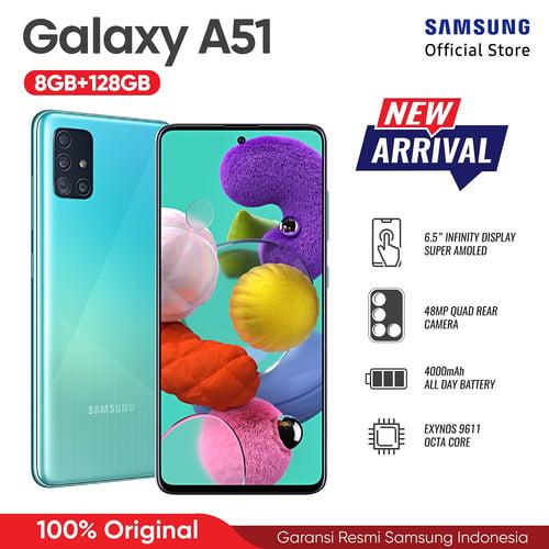 Samsung Galaxy A51 6GB/128GB Black-Garansi Resmi
