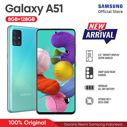 Samsung Galaxy A51 6GB/128GB Blue - Garansi Resmi
