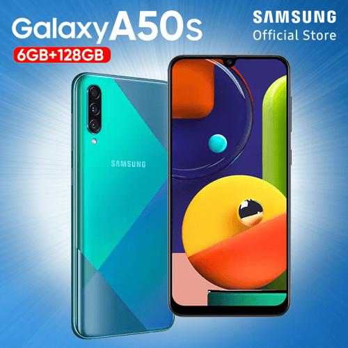 Samsung Galaxy A50S 6GB/128GB Green - Garansi Resmi