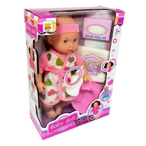 Boneka Pee Baby Doll Boutique Series Suara Pipis XK005-1 - Kids Toys