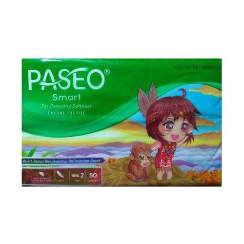 Tissue 1 Pack Tissue Mini Travel Pack PASEO Mini Travel Pack 50 S - Tissue Fcaial - Lembaran
