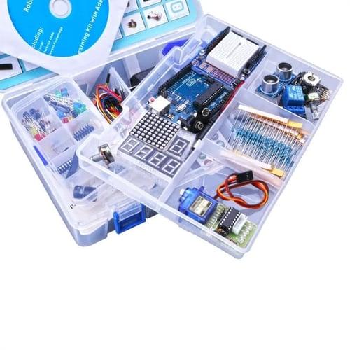 Starter Pack Learning Kit Uno R3 Robotic Paket Pemula
