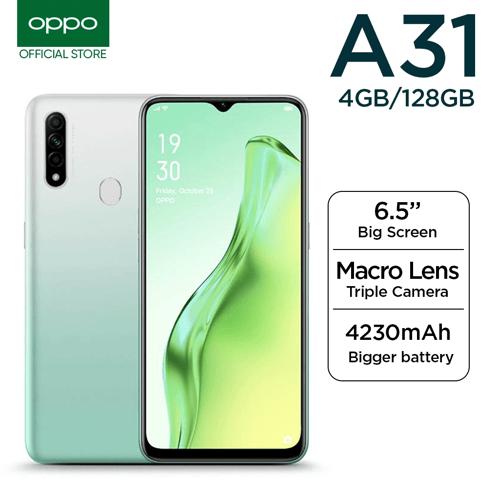 Oppo A31 6GB/128GB  Black - Garansi Resmi
