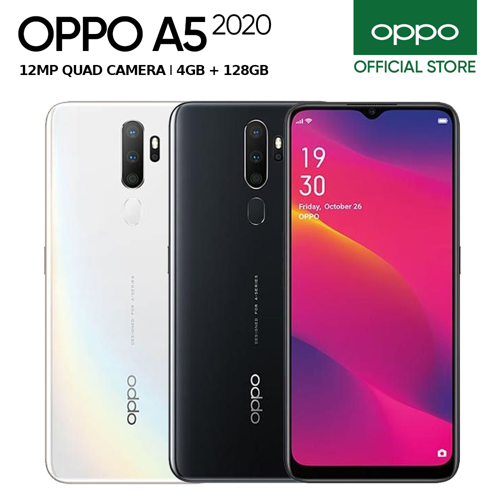 Oppo A5 4GB/128GB White - Garansi Resmi