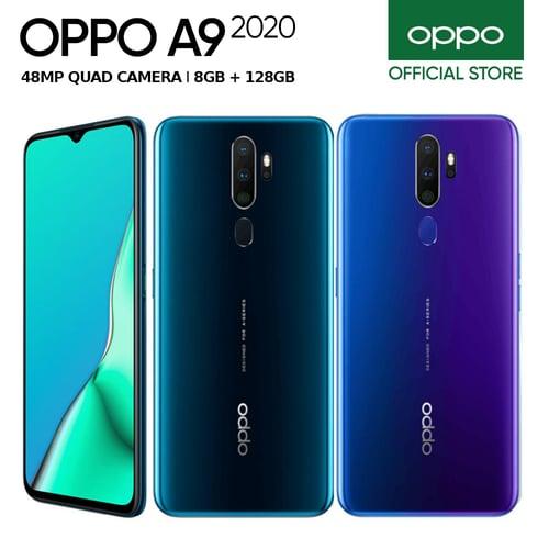 Oppo A9 2020 8GB/128GB Purple - Garansi Resmi