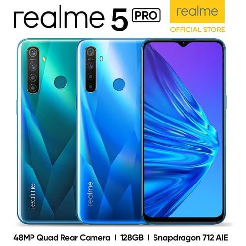 Realme 5 Pro 8GB/128GB Green - Garansi Resmi