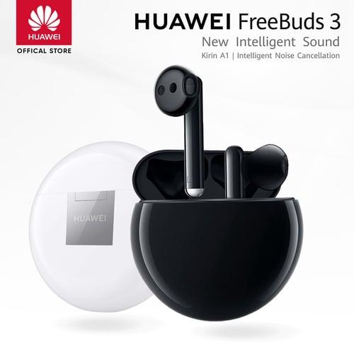 Huawei Freebuds 3 Wireless Earbuds Original Black - Garansi Resmi