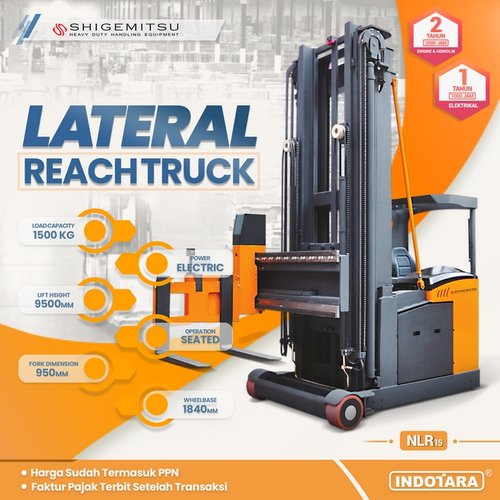 Lateral Reach Truck NLR15 - SHIGEMITSU