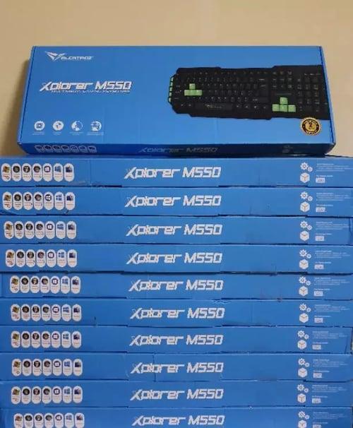 Alcatroz Multimedia Gaming Keyboard Xplorer M550