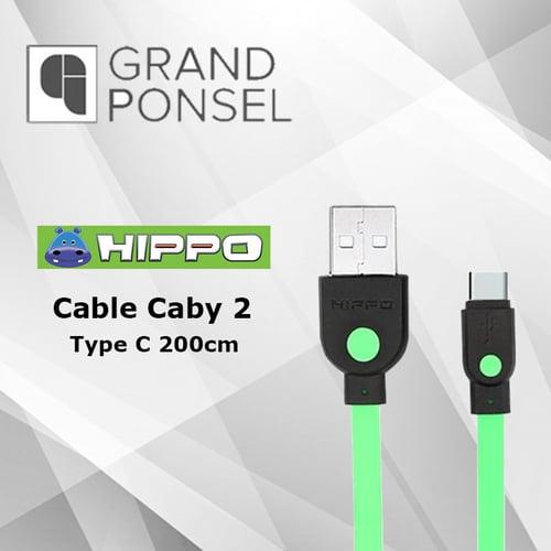 Kabel Data Hippo Caby 2 Type C USB 200 cm