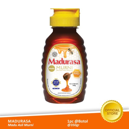 Madurasa Madu Asli Murni Botol 350 gr