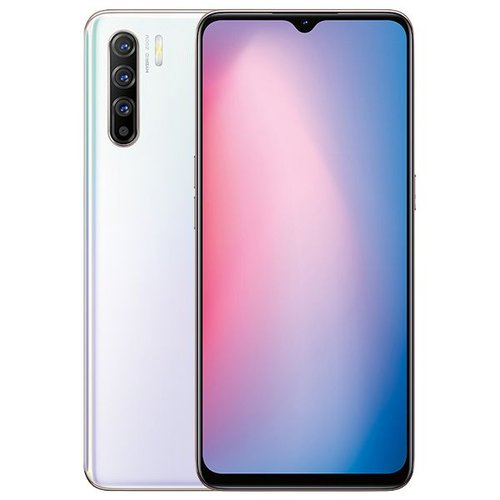 OPPO Reno 3 Smartphone - 8GB - 128GB - White - Garansi Resmi Oppo