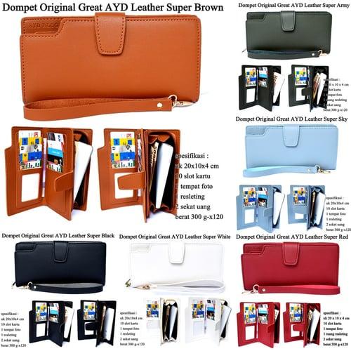 Dompet Murah Original Great AYD Leather