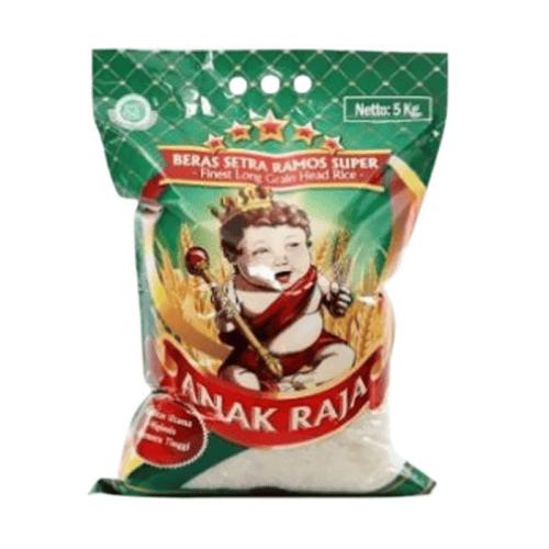 ANAK RAJA  Long Grain / Setra Ramos Beras Premium Setra Ramos 5kg