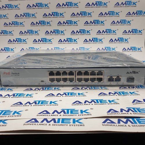 16 Port POE Switch Tipe AMT-P3018