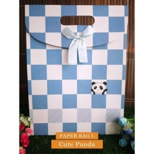 Paper Bag Motif / Tas Kertas Kado / Tas Ulang tahun - L CUTE SERIES 2 - Cute Panda