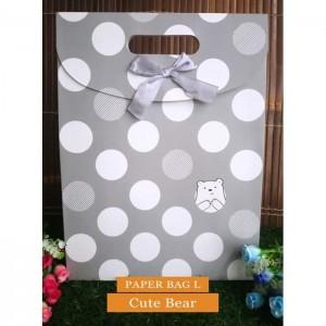 Paper Bag Motif / Tas Kertas Kado / Tas Ulang tahun - L CUTE SERIES 2-Cute Bear