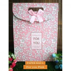 Paper Bag Motif / Tas Kertas Kado / Tas Ulang tahun - L GARDEN-for U pink