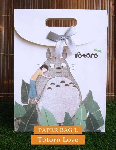 Paper Bag Motif / Tas Kertas Kado / Tas Ulang tahun - L TOTORO SERIES-Love