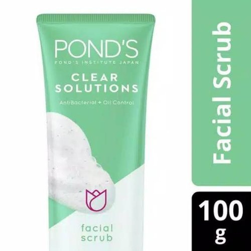 PONDS Clear Solutions Facial Scrub 100g