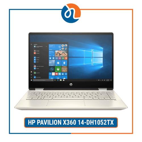 HP PAVILION X360 14-DH1052TX - i5-10210U 8GB 512GB MX130 2GB WIN10 OHS