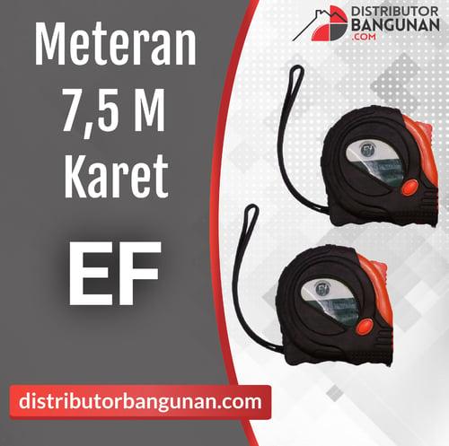 Meteran 7,5m Karet EF