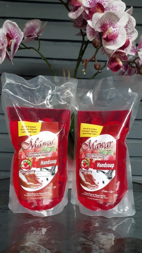Mawar Handsoap 1L Strawberry