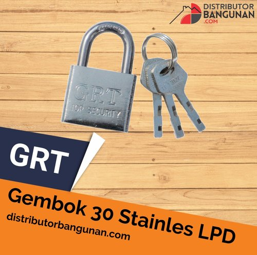 Gembok 30 Stainles Lpd GRT