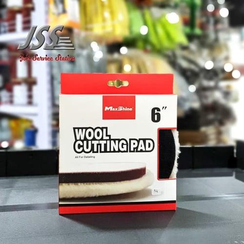 Maxshine Wool Cutting Pad diameter 6 inch
