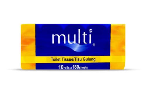 Multi Toilet Tissue (180 sheets x 10 Rolls)