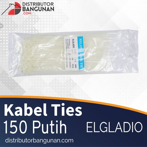 Kabel Ties 150 Putih ELGLADIO