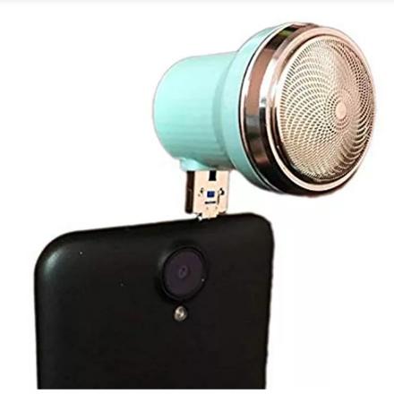 Alat cukur Elektrik shaver mini portable