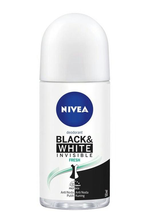 NIVEA Invisible for Black & White Fresh Roll On 50ml