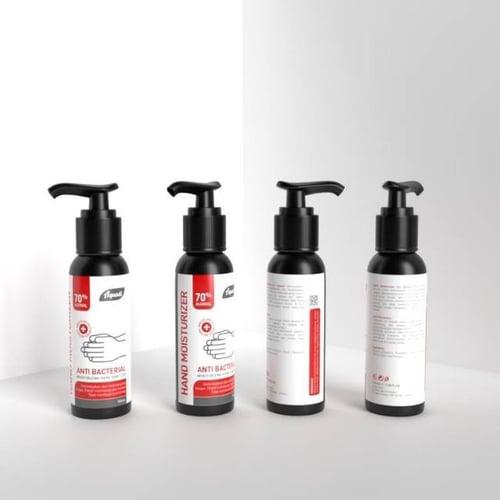Hand Sanitizer alkohol 100ml gel ada BPOM Murah Aquadi.