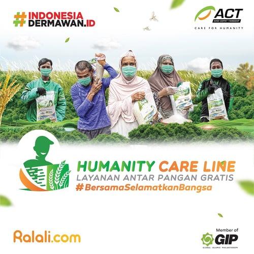 ACT - Layanan Pangan Gratis untuk Saudara Sebangsa (Humanity Care Line)