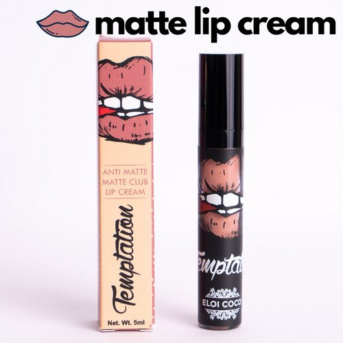 Lady Boss Temptation Anti Matte Matte Club Lip Cream 5ml