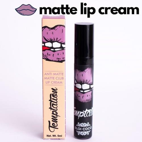 Purple Rain Temptation Anti Matte Matte Club Lip Cream 5ml