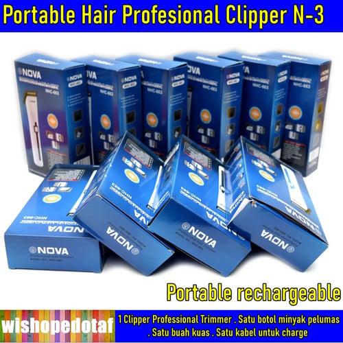 Alat cukur rambut  elektrik N3