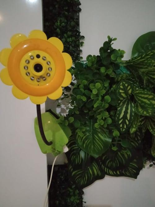 Kamera CCTV wireless berbentuk bunga matahari ( SUn Flower)